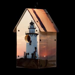 Breakwater Light Old Saybrook Birdhouse