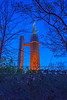Vulcan Statue Blue Hour