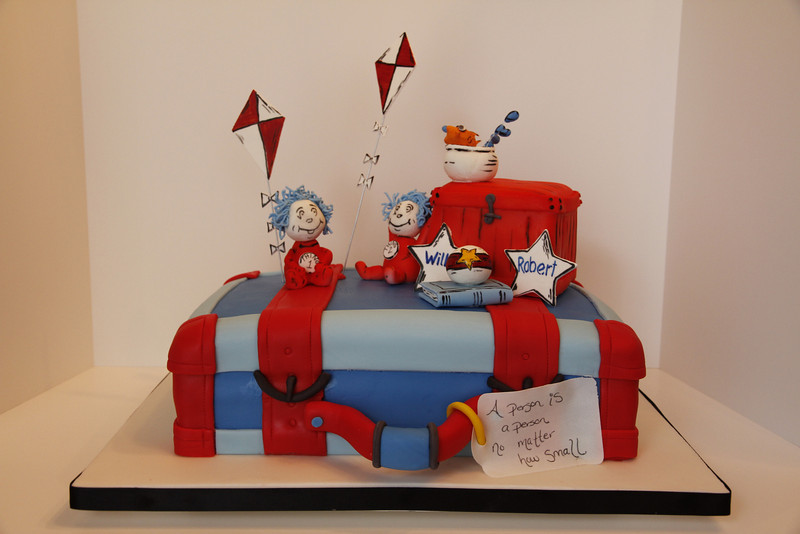Dr. Seuss: Thing 1 & Thing 2