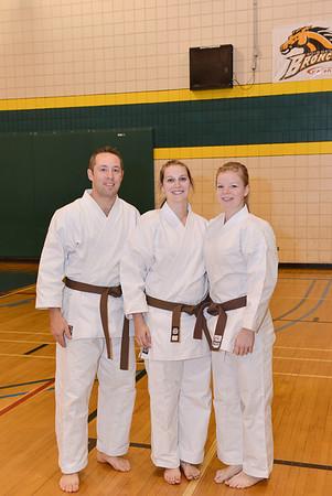 Black Belt Grading - Oct. 2012 - Boissevain
