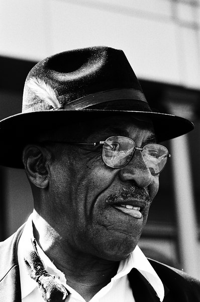 Don Cunningham, a wonderful jazz musician who regularly plays near the ferry building.
