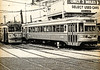 "1968 Trolleys Parked at the 69th St Terminal - 1<br /> The Media - 69th St ""Red Arrow"" trolley was like the gateway to Philadelphia, when I was growing up.  Sometimes it was to the doctor, on 69th St, and sometimes it was to transfer to the ""El"" (for Elevated Train) to go to downtown Philadelphia - Wanamakers, Strawbridge & Clothier, Gimbels, Lits. The line still runs as SEPTA 101. In Media, the trolleys still run on a single track, in the middle of State St. It's alleged that Media is the only town in the United States to have a trolley running down the middle of its main street."