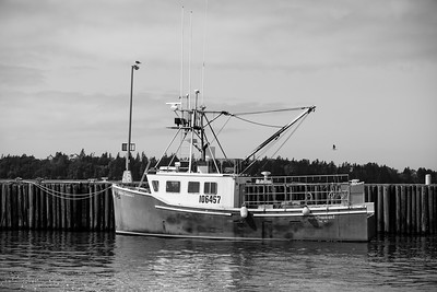 Nova Scotia fishing boat