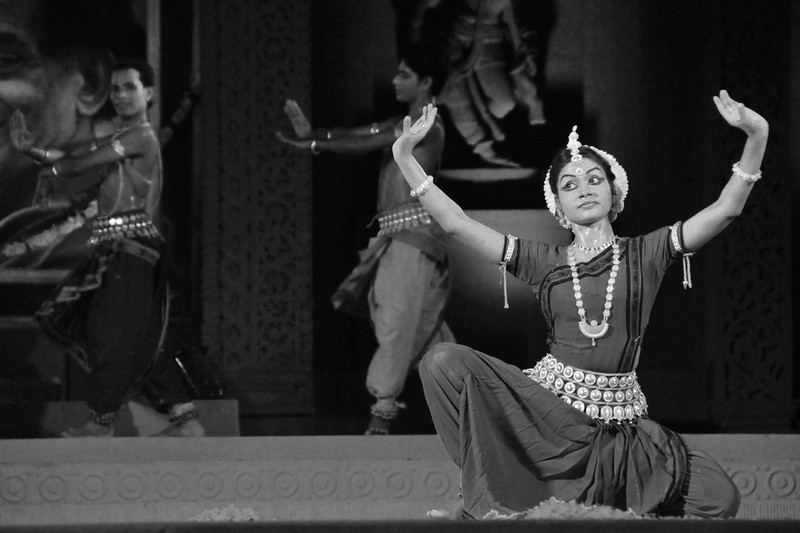 """Odissi Dance by Konark Natya Mandap, Konark.<br /> <br /> The Konark Dance & Music Festival 2011 held from February, 19th to 23rd, organized by Konark Natya Mandap. The festival takes place in an open-air auditorium and enlivens the spirit of the sculptures of Konark temple which is just a short distance away.<br /> <br /> The objectives of the Konark Natya Mandap are to preserve, promote, and project the rich cultural heritage of Orissa and to infuse cultural awareness in the minds of all. Started with painstaking efforts of internationally renowned Odissi dance teacher Guru Gangadhar Pradhan who unfortunately passed away last year. For more details on the festival see  <a href=""""http://www.konarknatyamandap.org/"""">http://www.konarknatyamandap.org/</a>"""