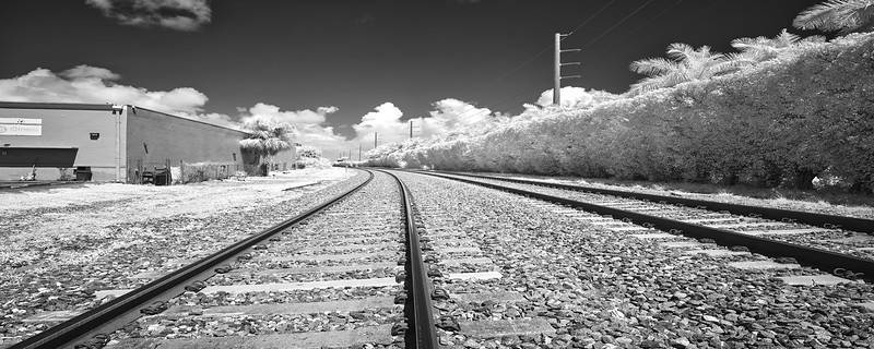 Infrared RailRoad Tracks