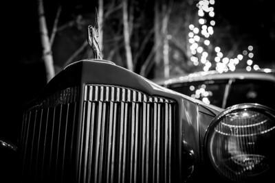 """""""Midnight Run""""  A 1935 Packard coupe."""