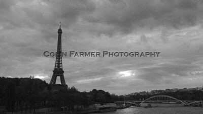 Eiffel on the Seine