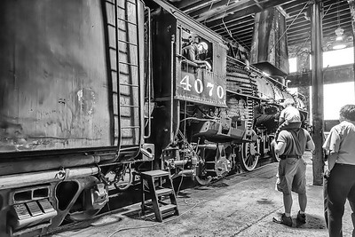 Google+ Event at the MRPS Open House at the Historic B&O Roundhouse