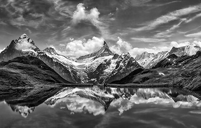 Reflection of the Matterhorn