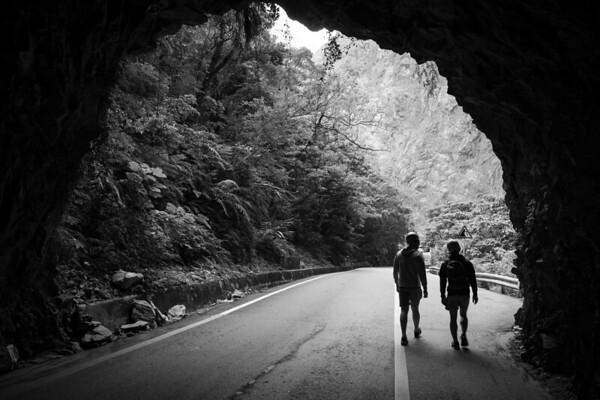 Out of the Darkness - Taroko Gorge, Taiwan