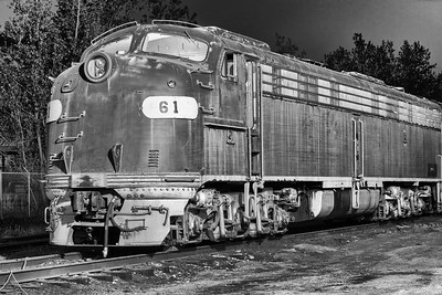 EMD E8 at the Midwest Railway Preservation Society