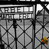 Arbeit Macht Frei - Work sets you free<br /> <br /> Gate on Dachau Concentration Camp - 1933-1945