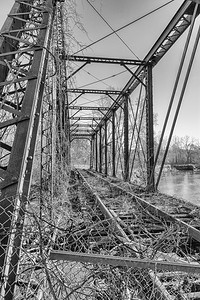 Jaite Paper Mill Railroad Bridge