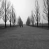 Dachau Concentration Camp - Corridor between Living quarters