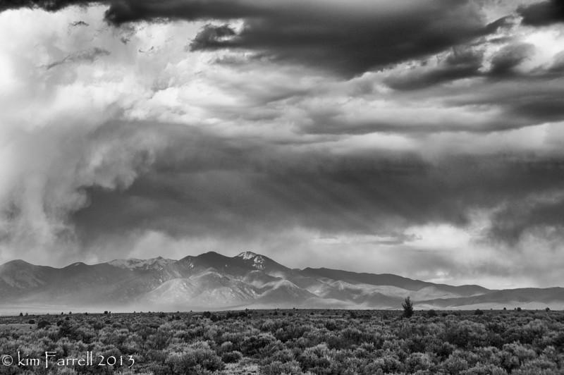 Taos Mountain storm.