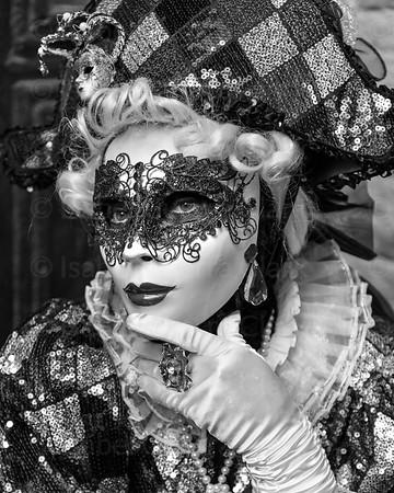 Venetian Carnival reveler