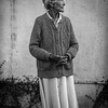Portrait of old Mexican woman in Tucson