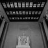 Abraham Lincoln Memorial in Washington DC USA