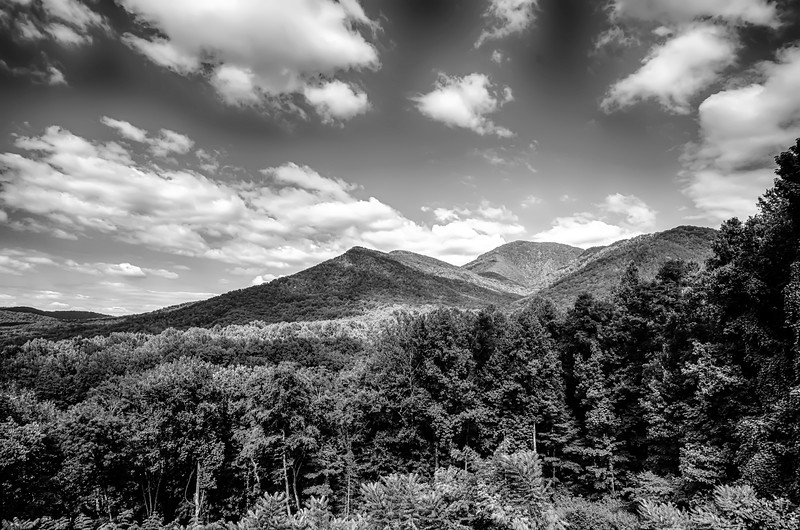 carlos campbell overlook in great smoky mountains