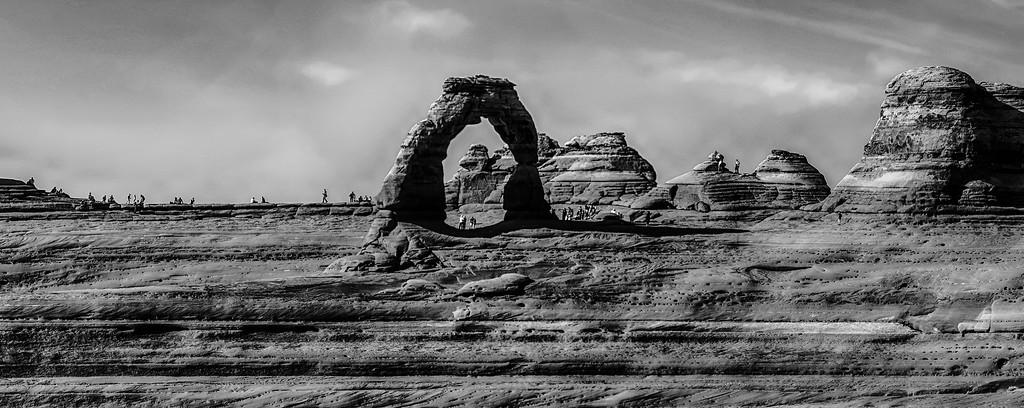 Arches National Park  Moab  Utah  USA