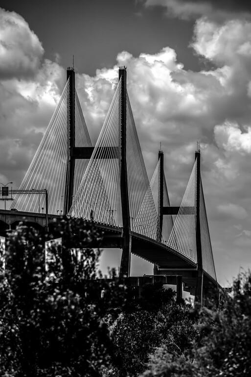 Talmadge Memorial Bridge in savannah georgia