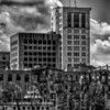 Savannah Georgia USA downtown skyline