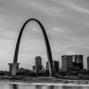 saint louis missouri downtown at daylight
