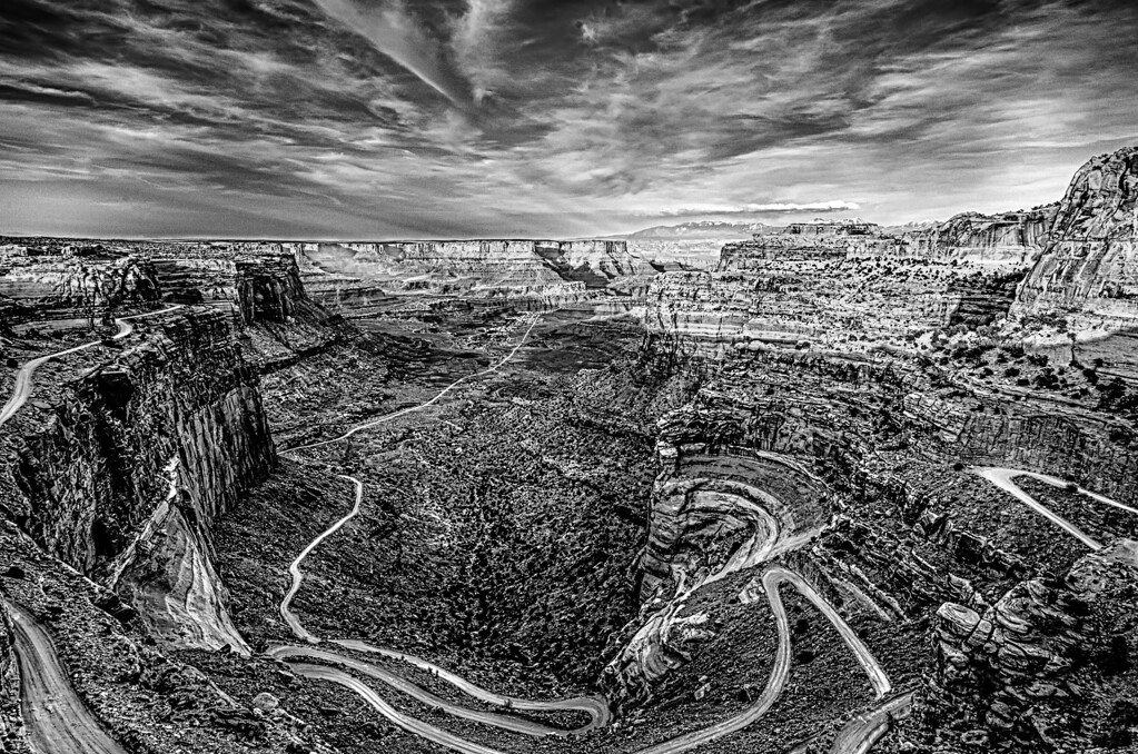 white rim road - Canyonlands National park Utah
