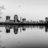 springfield massachusetts city skyline early morning
