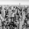 new york city manhattan skyline aerial