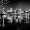 harrisburg pennsylvania skyline at night