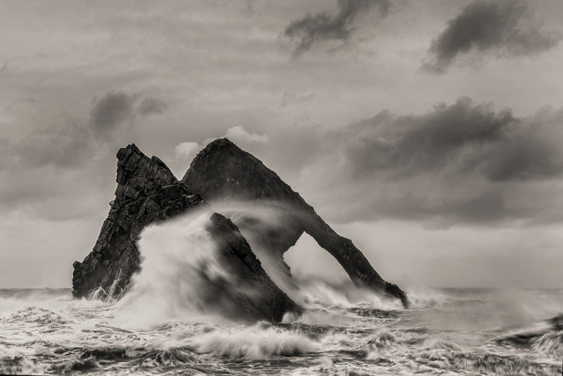 Bow Fiddle Rock, Portknockie, Moray, Scotland.