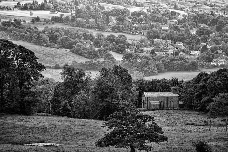 Denton Church near Ilkley, West Yorkshire