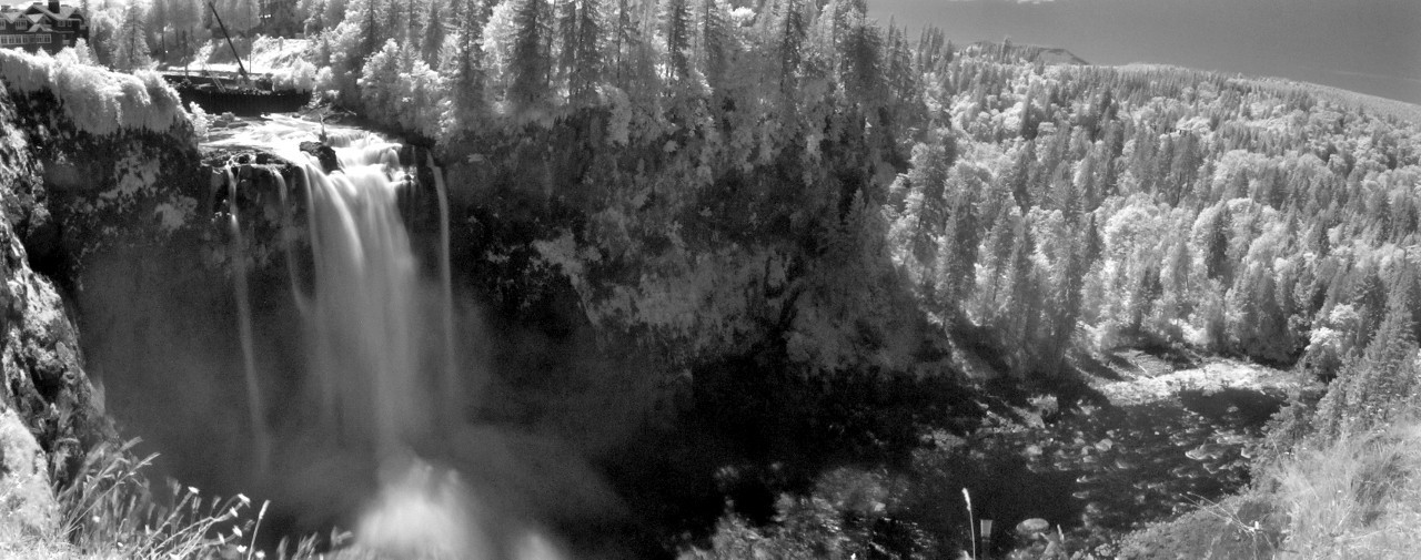 8-3 Snoqualmie Falls IR Pano