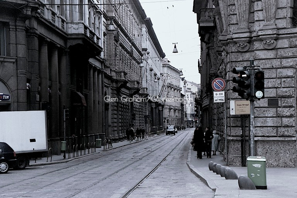 "Milan, Italy. I took this photo in 2002 with one of the very early Kodak Digital ""Point & Shoot"" cameras. I was rummaging through old items and found the CF card."