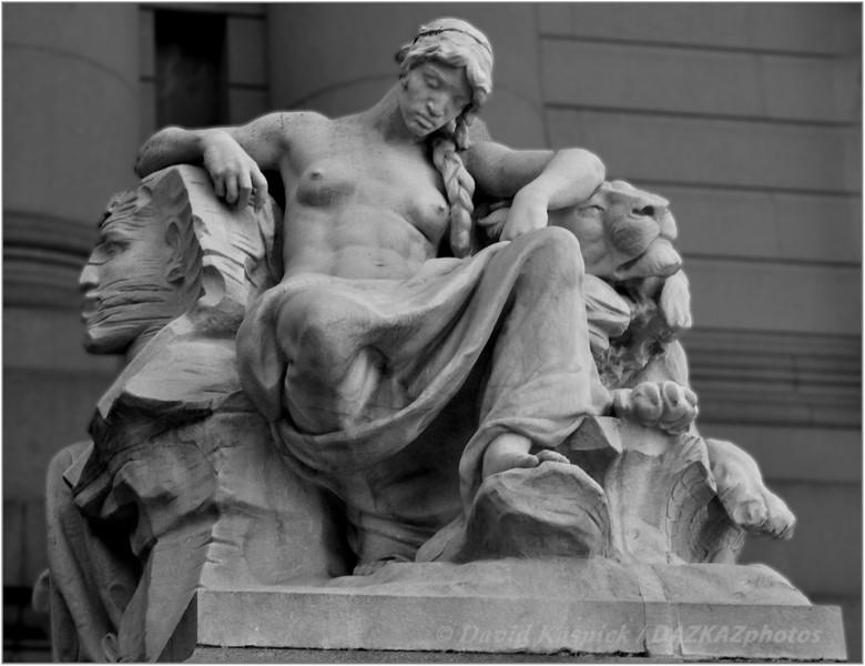 Womans Statue - New York City