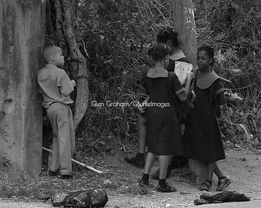 In 2009 I visited my boyhood school in rural Jamaica and saw the interactions have remained the same over time (40 years). Little boys are still made of snails and puppy dog tails...... LoL