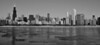 Chicago Skyline B&W, Chicago, IL