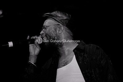 Jamaican reggae star Beres Hammond performing in Charlotte NC.