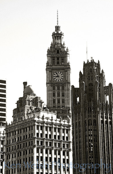 Tribune Tower & Wrigley Building © Copyright Ken Welsh