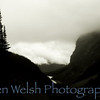 """The Clouds Below""<br /> <br /> Sacred Places of Earth:  Trail to Tea House and Plane of Six Glaciers  <br /> © Copyright Ken Welsh"