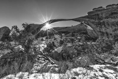 Landscape Arch Starburst