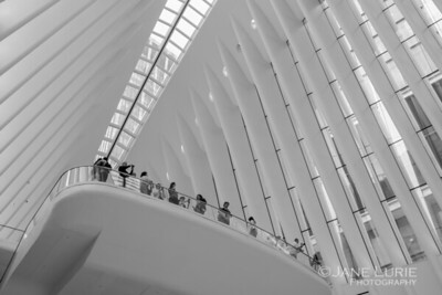 People in the Oculus, New York