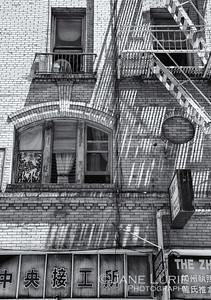 Fire Escape, Chinatown, San Francisco