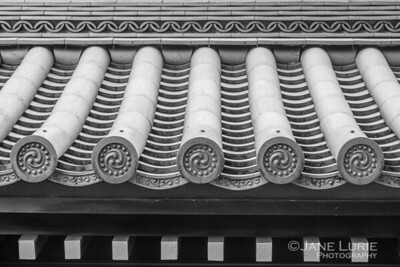 Rooftop Detail, Kyoto