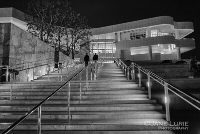 The Getty at Night, Los Angeles