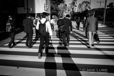 Commuters, Tokyo
