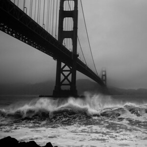 Golden Gate and Wave