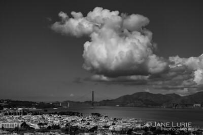 Cloud Over Golden Gate