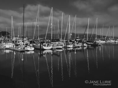 Boats in the Marina, SF